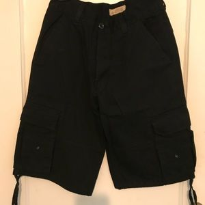 Other - Basic Access Black Cargo Shorts